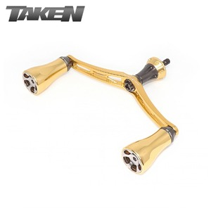 타켄 GULL101 핸들 (시마노) 골드/TAKEN GULL101 HANDLE (SHIMANO) GOLD 101mm